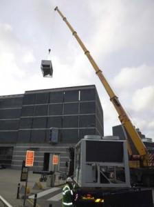 Chiller Crane Lift