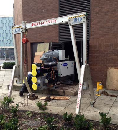 Installing Chillers