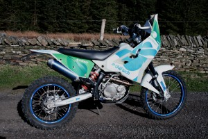 Rally Bike Commissioned by Chill Tech